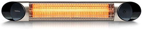 Design-Infrarot-Heizstrahler-mit-2500-Watt-inklusive-Fernbedienung-4-Heizstufen-Timerfunktion-Carbonstrahler-als-Terrassenheizer-bzw-Terrassenstrahler-ideal-geeignet-Infrarotstrahler-fr-Indoor-und-Out