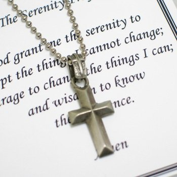 Serenity Prayer Cross for Him