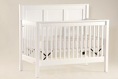 Capretti Design Soho Panel Convertible Crib, 31 x 53.63 x 47.75-Inch, Natural
