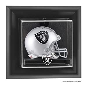 Oakland Raiders Wall- Mini Helmet Display Case - Memories - Mounted Memories... by Sports Memorabilia