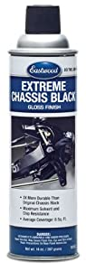 Eastwood Extreme Chassis Black Gloss Paint Aerosol 15oz from Eastwood