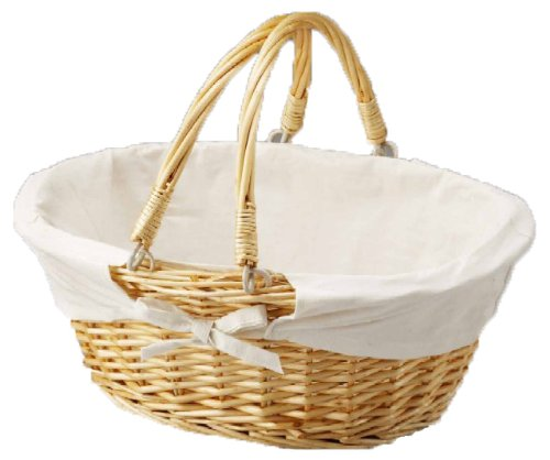 Best Review Of Oval Willow Basket