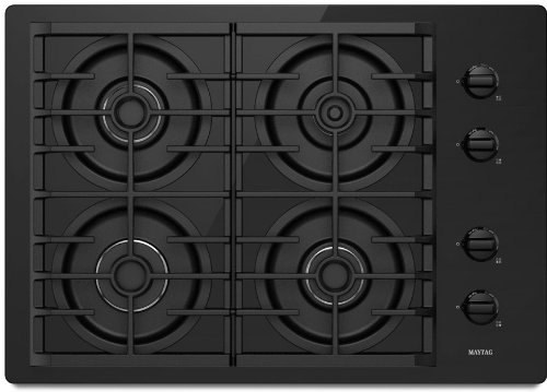 Maytag MGC7630WB 30 Gas Cooktop - Black