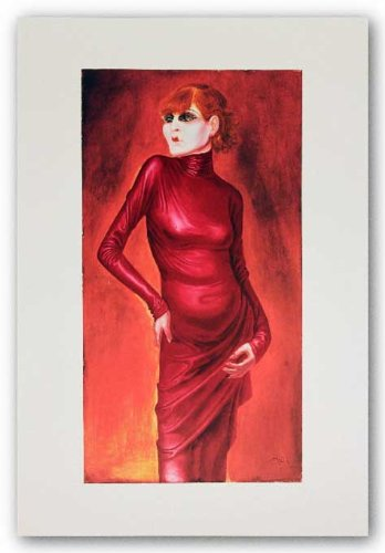Portrait of the Dancer Anita Berber by Otto Dix 31