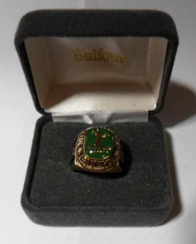 Balfour NBA Milwaukee Bucks Ring Size 8 Gold
