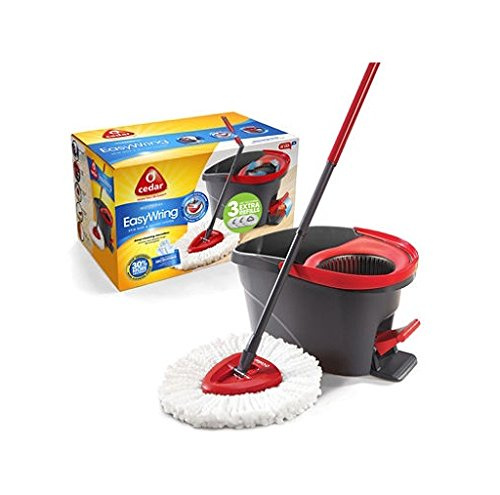 Awardwiki O Cedar Easy Wring Spin Mop And Bucket System
