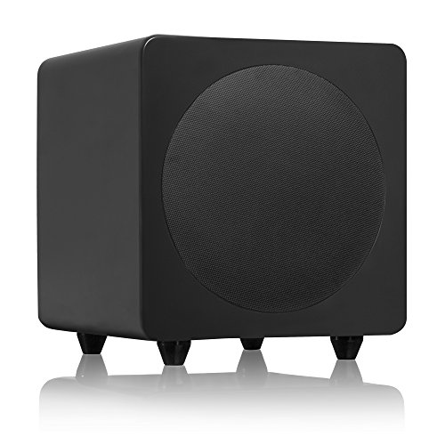 Why Should You Buy Kanto 8 120W Super Bass Subwoofer, Matte Black (SUB8MB)