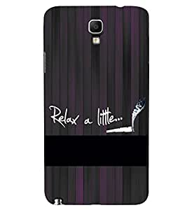 PRINTSWAG TEXT Designer Back Cover Case for SAMSUNG GALAXY NOTE 3 NEO