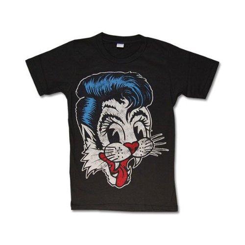 Tシャツ/STRAY CATS/ストレイキャッツ/ロックTシャツ、バンドTシャツ S チャコール