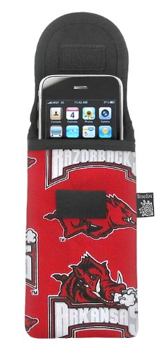 University of Arkansas Phone Case Glasses Holder Arkansas Razorbacks Fits APPLE IPHONE TOUCH Samsung LG Nokia and more