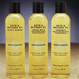 Bath and Massage Oil - Amber Musk