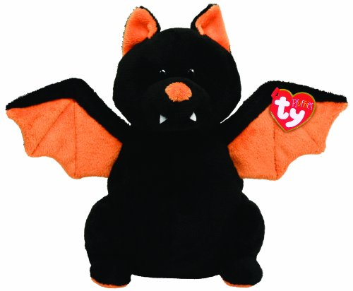 Ty Pluffies Moonstruck Black Bat - 1