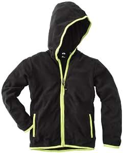 Protest Dylans Jr. Full Zip Hoody Veste à capuche zippée garçon True Black FR : 10 ans (Taille Fabricant : 140)