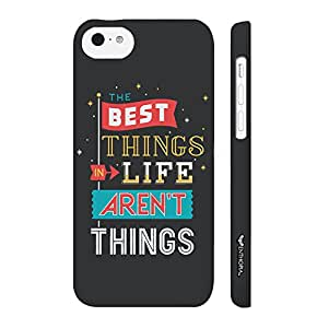 Apple IPhone 5 C Best Things Rnt Things designer mobile hard shell case by Enthopia