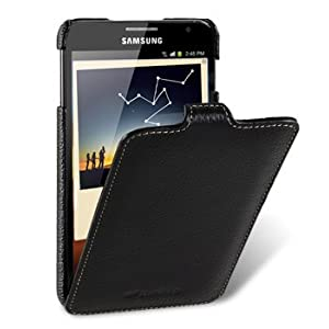 Melkco - Samsung Galaxy Note / GT-N7000 / i9220 ultra slim handmade premium genuine cowhide leather case jacka flip type