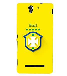 PRINTSHOPPII LOGO Back Case Cover for Sony Xperia C3 Dual D2502::Sony Xperia C3 D2533