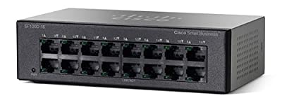 Cisco SF100D-16-NA 16 Port Fast Ethernet Switch