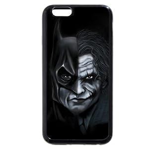 "iPhone 6s Case,Onelee Batman iPhone 6S 4.7"" Case Black Rubber(TPU) at Gotham City Store"