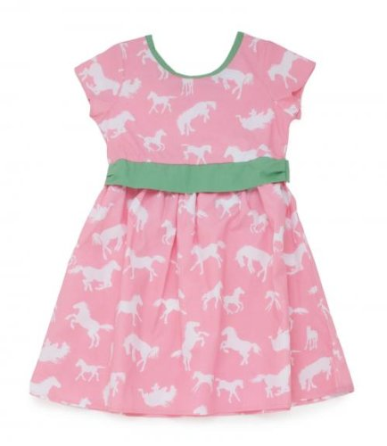 Hatley Running Horses Girls Party Dress, Dresses, Girls