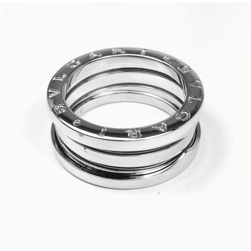 BULGARI B.ZERO1 3-band ring 18kt white gold AN191024