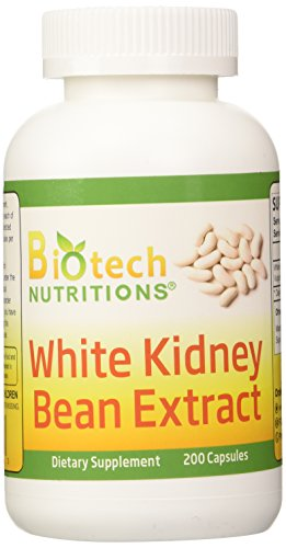 Biotech Nutritions Pure White Kidney Bean Extract 1000 mg Pe