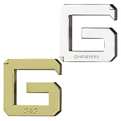 G&G Hanayama Cast Metal Brain Teaser Puzzle (Level 3)
