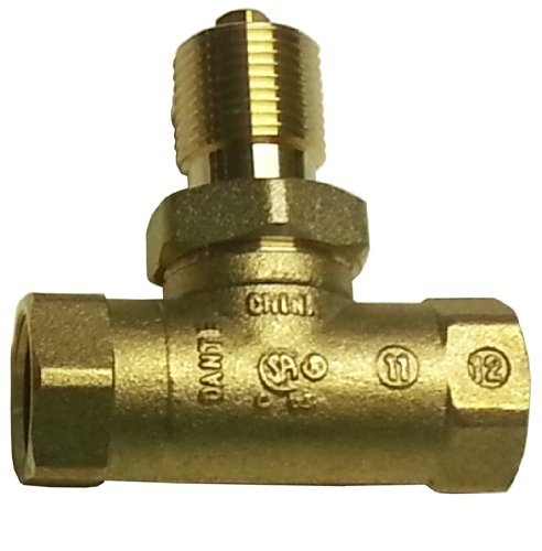 Dante Products 1/2- inch, Straight, Quarter-Turn Ball Valve (Propane Ball Valve compare prices)