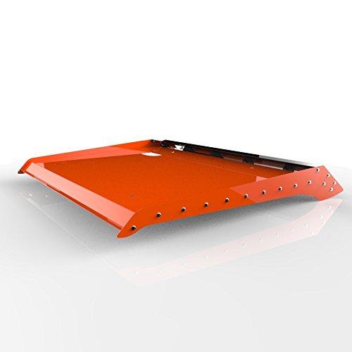Orange Powdercoat Two 2 Seat Aluminum Roof fits: 2014-2016 Polaris RZR 900 1000 - Ferreus Industries - ATV-105-Orange-a (2015 Rzr 900 Aluminum Roof compare prices)