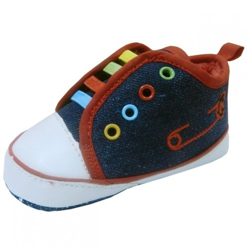 Image of Baby Boy Colorful Shoes 6 -9 Months