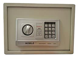 Noble Electronic Digital Safe Home Office Anti Theft Closet Security Model St-25E In Tan