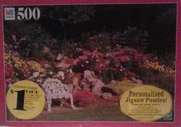 Sunken Perrenial Garden 500 Piece Croxley Puzzle - 1