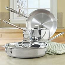 All-Clad Stainless Starter Cookware Set 5 Piece