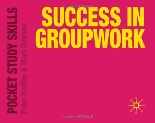 Success in Groupwork (Pocket Study Skills)
