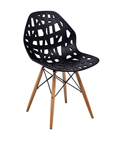 LeisureMod Akron Plastic Side Chair