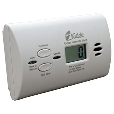 Kidde KN-COPP-B-LPM Battery-Operated Carbon Monoxide Alarm with Digital Display by Kidde