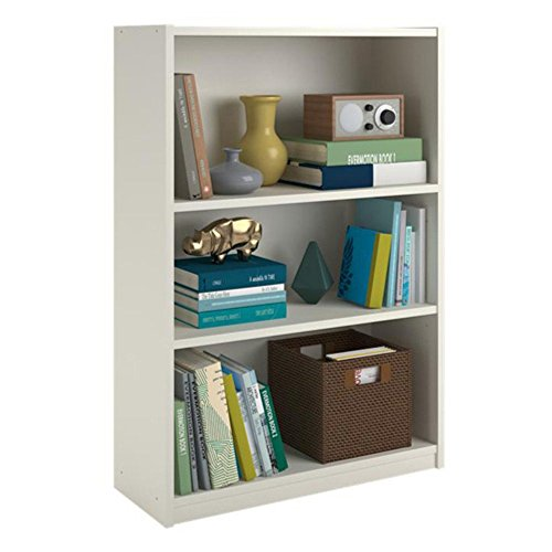Altra Furniture Core 3 Shelf Standard Bookcase Altra 3 Shelf Bookcase