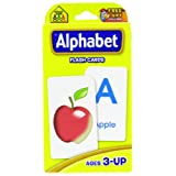 Alphabet Flash Cards by School Zone Publishing Company Staff