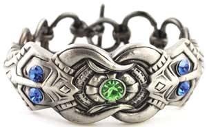 Celtic Jeweled Dragon Bracelet Women's Men's
