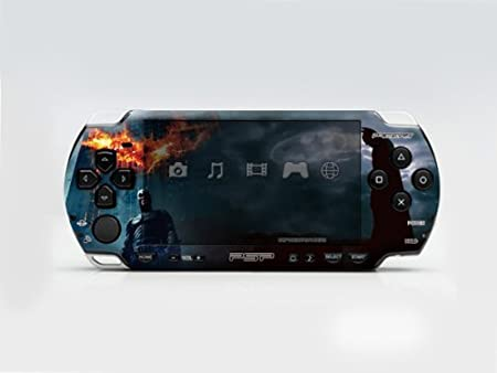 The Batman PSP (Slim) Dual Colored Skin Sticker, PSP 2000