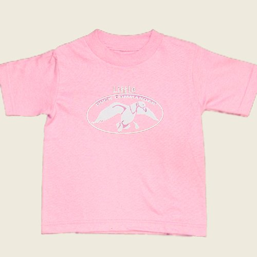 Duck Commander Toddler T-Shirt Logo Pink / White, 3T front-1041436