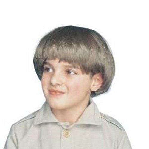 squire wig brown wig accessory - 1