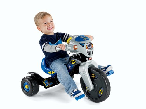 Fisher-Price DC Super Friends Batman Lights And Sounds Trike