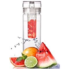 Buy Infuser Water Bottle 27 Ounce - Made of durable Eastman Tritan - Create Your Own... by VisionUSA