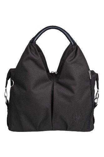 Lï¿œssig Changing Bag Green Label Neckline Bag (Black) by Lï¿œssig