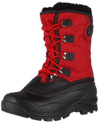 Kamik Women's Celebrate Snow Boot,Red,9 M US