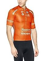 Santini Maillot Ciclismo TDU LeaDers 2016 (Naranja)