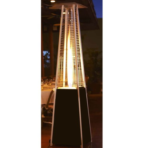 AZ Patio Heaters HLDSO WGTHG Quartz Glass Tube Patio Heater, Hammered Bronze