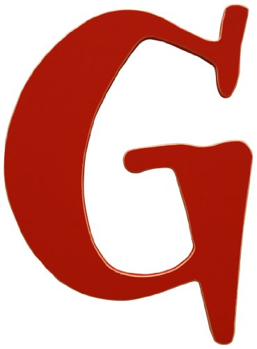 New Arrivals The Letter G, Rusty Red