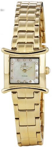 Christina Design London Gold Pvd Ladies 12 Diamond Bracelet Watch