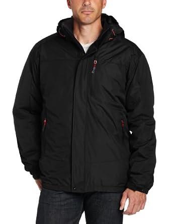 Hawke & Co Men's Haven Systems Jacket, Black, Large